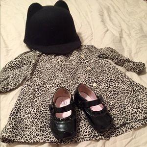 NWOT Infant Girl 6-12m GAP Animal Print Dress